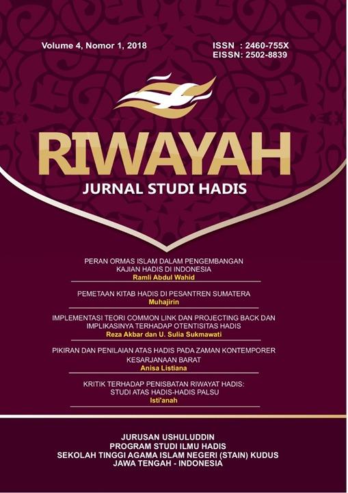 Cover Riwayah