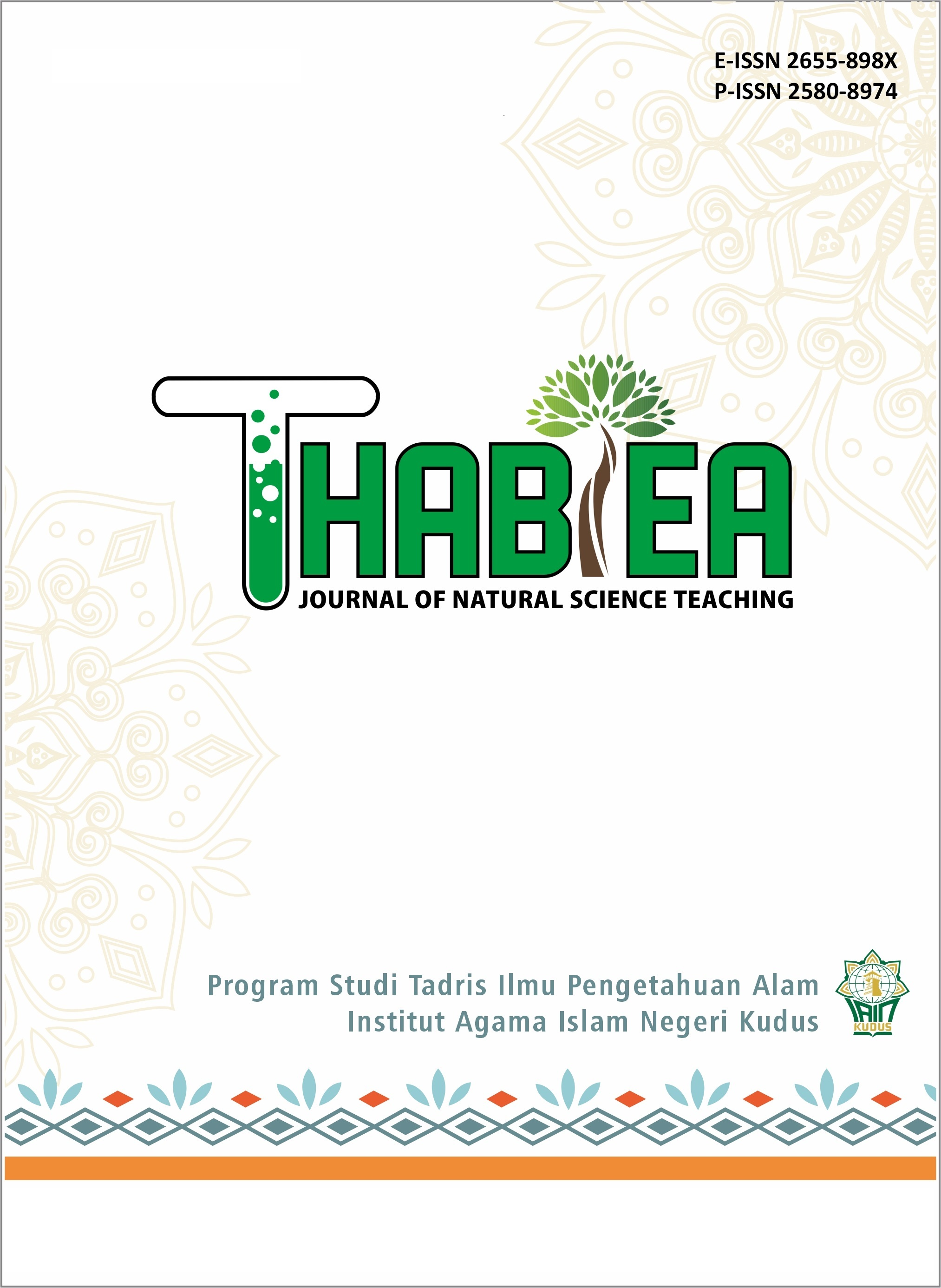 Thabiea : Journal Of Natural Science Teaching