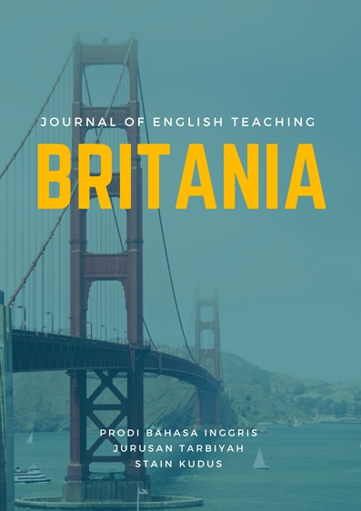 Britania Journal Of English Teaching