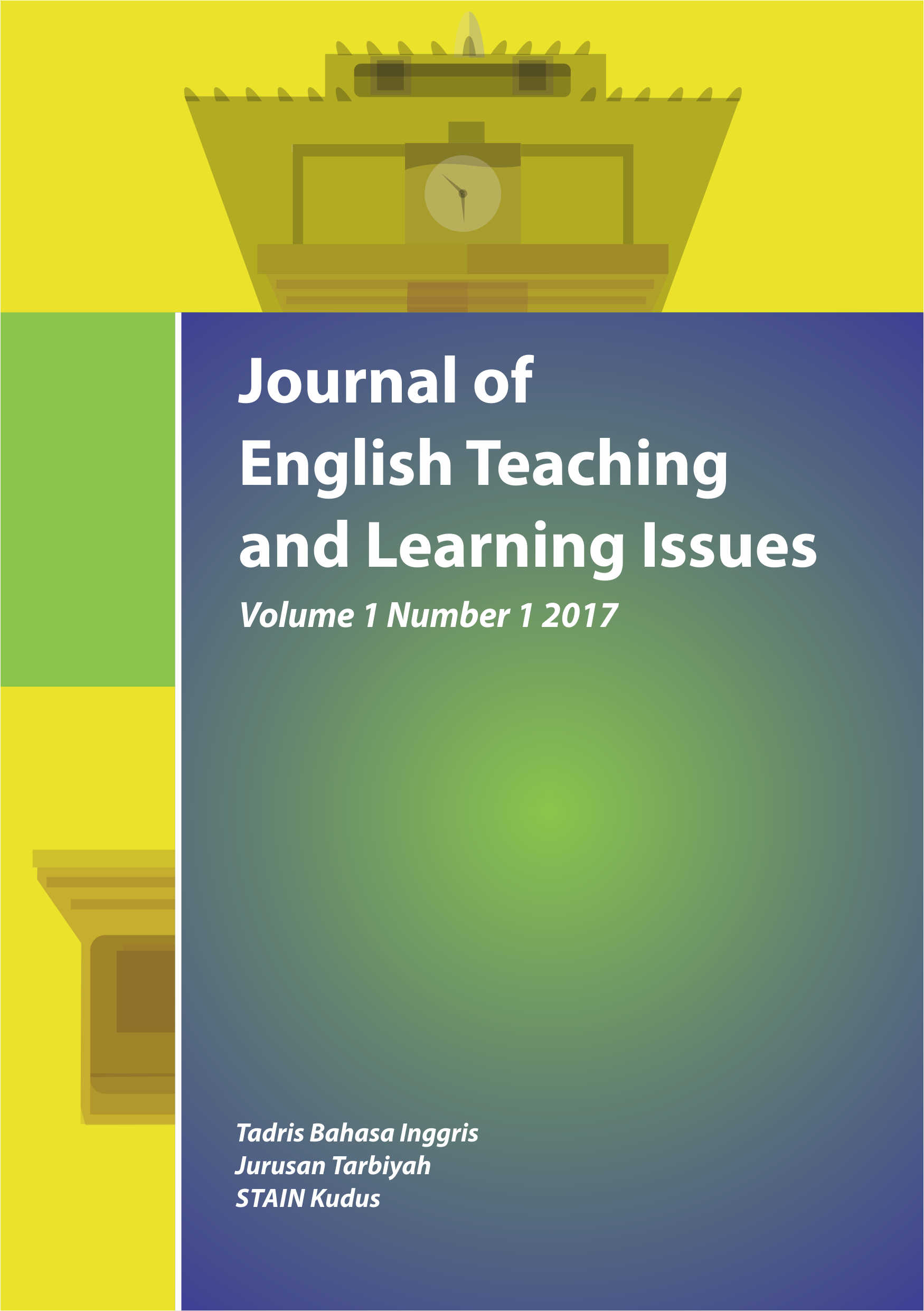 Journal Of English Teaching And Learning Issues